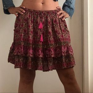 Spell and the Gypsy mini skirt M